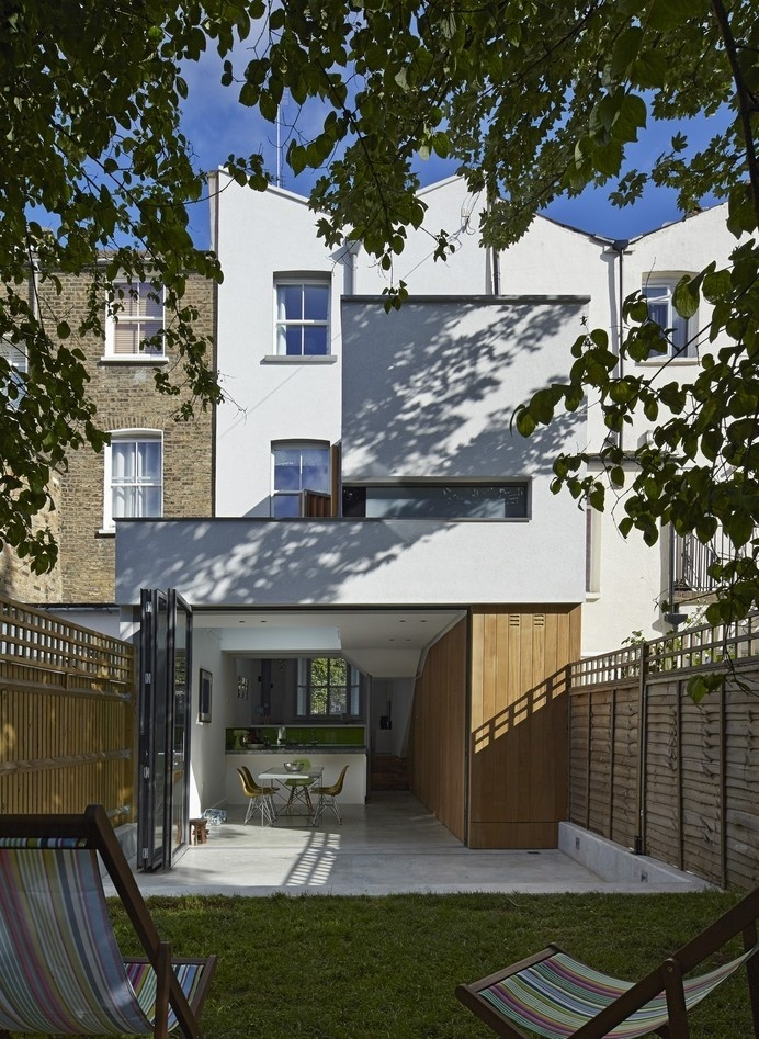 Clever Family Home Makeover in London by Neil Dusheiko Architects #london #architecture