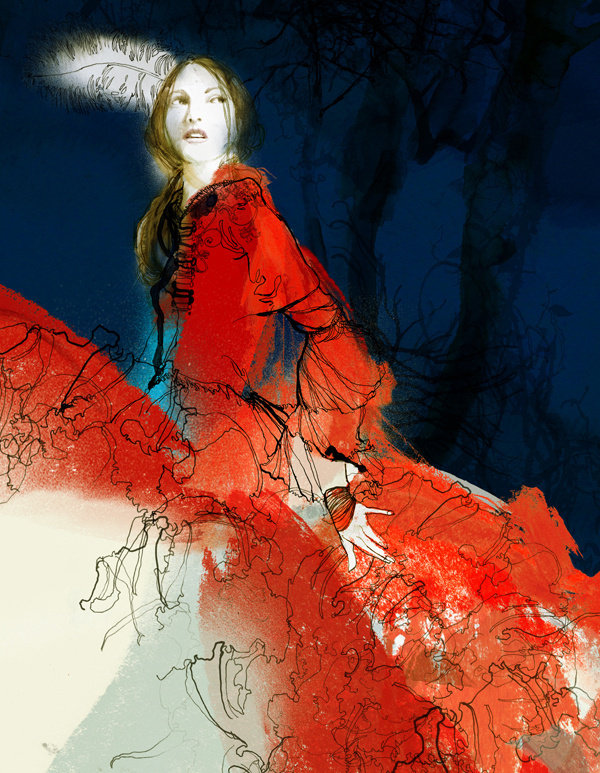The Little Red Riding Hood on Illustration Served #riding #illustration #hood #red