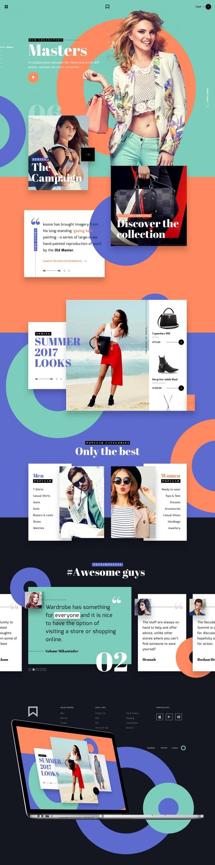LV — Fashion brand • UI/UX