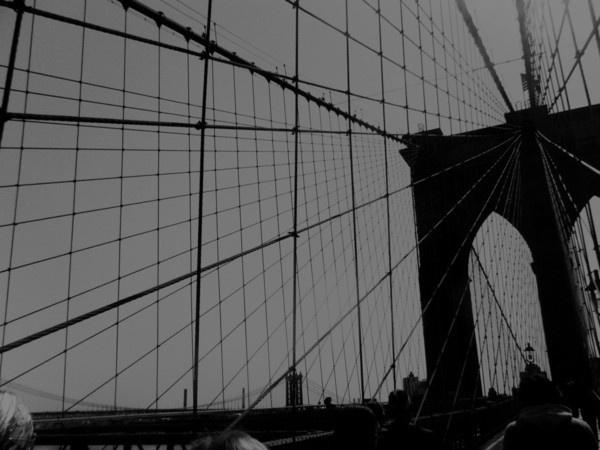 Nouvelle York 2010 on Behance #wallb #lines #york #bridge #new