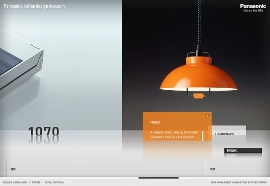 Nicki Mayrhofer / Portfolio #museum #design #orange #panasonic #online