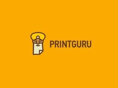 Dribbble - Printguru v.3 by Stanislav Stanovov #logo #illustration