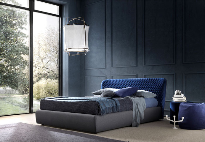 Corolle Bed by Bolzan Letti - #design, #furniture, #modernfurniture,