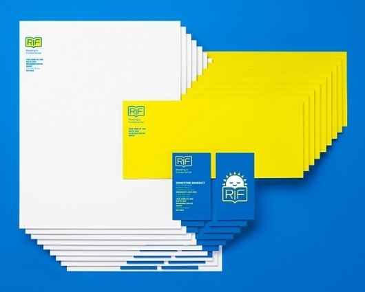 Reading is Fundamental is Fun - Brand New #brand #identity