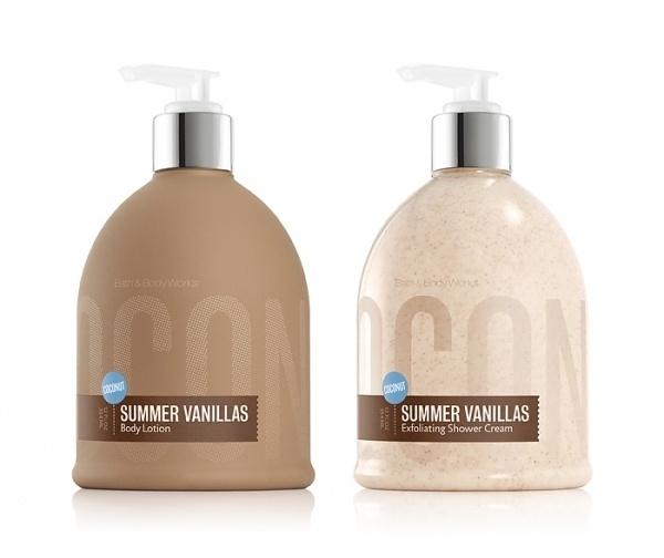 Bath & Body Works: SummerVanillas - The Dieline - The #1 Package Design Website -