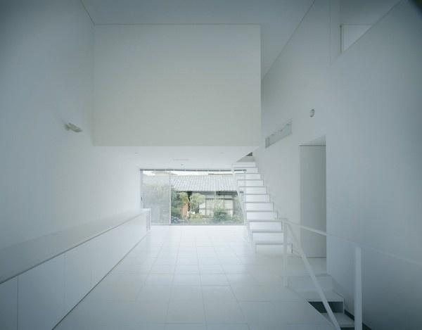 Industrial Designer House / Koji Tsutsui Architect & Associates #white #shells #void #solid #interiors #architecture #houses