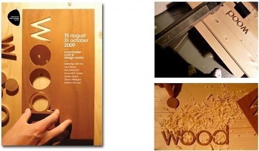 Dave Sedgwick | Design & Art Direction #invite #centre #crafts #flyer #design #graphic #manchester #wood #diy