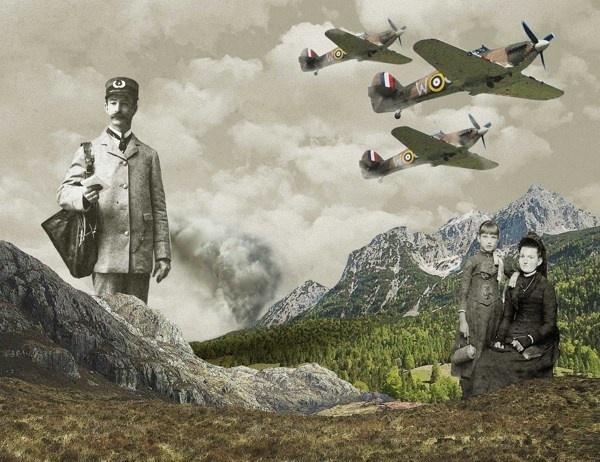 Twist of fate #modern #surrealism #vintage #art #collage