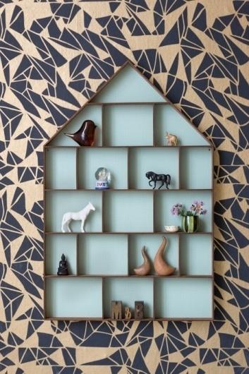 From Scandinavia with love - design & style (Small shelf from Danish Ferm Living.) #interior #shelf #scandinavian #design