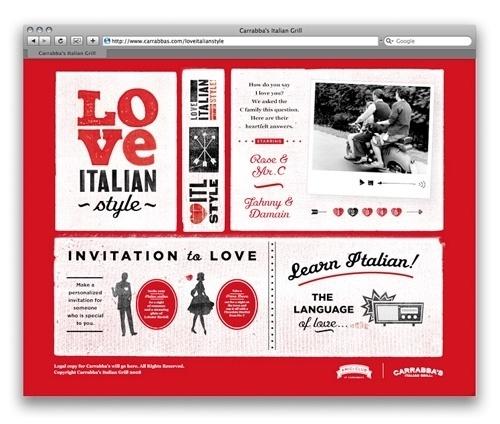 NiceFuckingGraphics! - Blog de diseño gráfico - Part 5 #red #classic #black #italian #love
