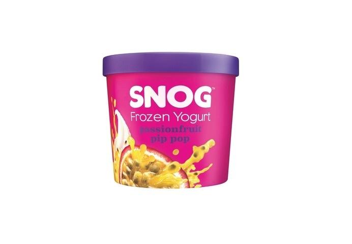 Cassette Playa x SNOG Frozen Yogurt #packaging #cream #ice #frozen