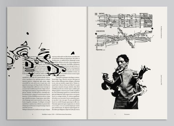 Geiger Magazine #spread