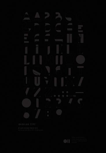 Qabalah type on the Behance Network #typography