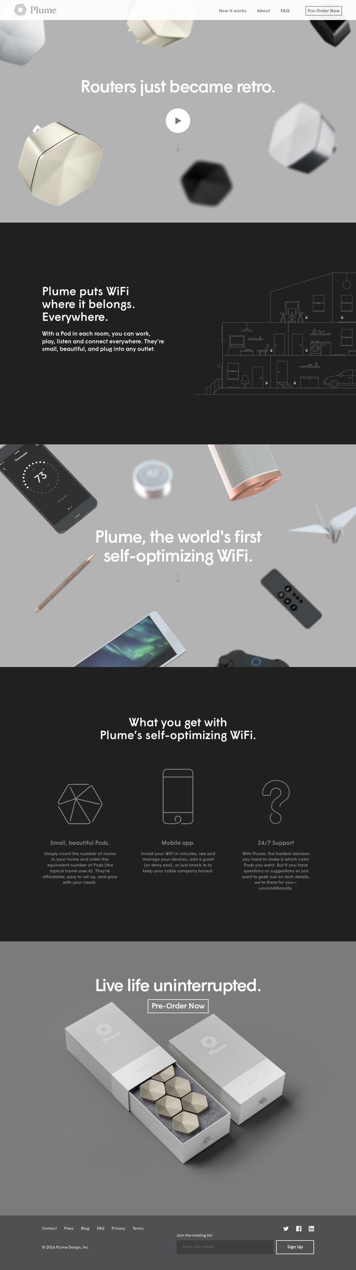 Plume, more WiFi