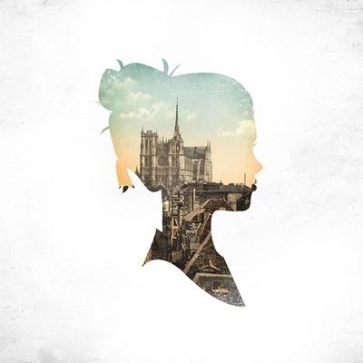 tumblr_l7xx0kInmI1qzckzxo1_400.jpg 400×400 pixels #silhouette #girl #cityscape