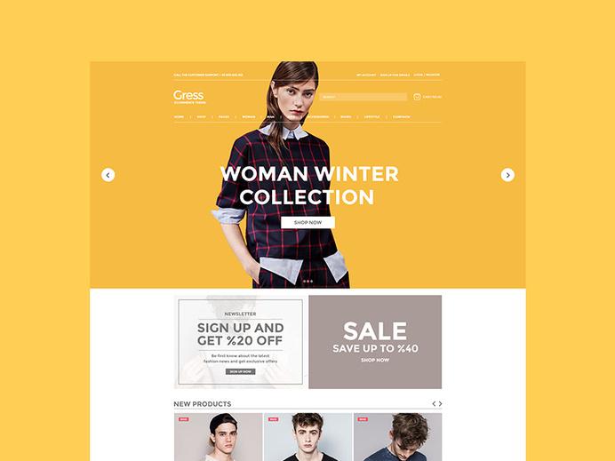 A little view on header design. #layout #web #header