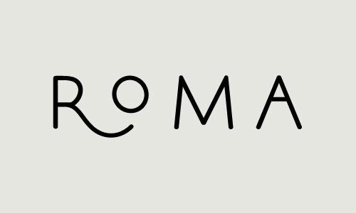 / roma #type #typography