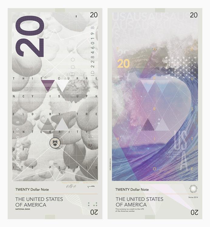 travis purrington dollars introduce radical redesign for the US #us #money