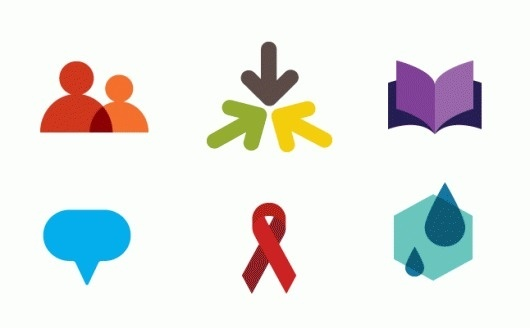 New Voice for Voices of Youth - Brand New #color #iconography #branding