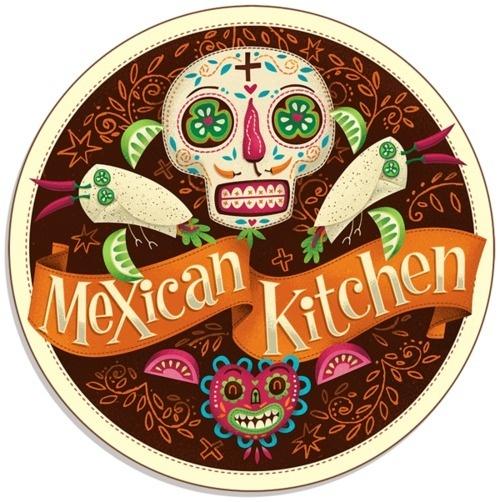 TUZO Mexican Kitchen by Steve Simpson #steve #simpson #illustration #up #logo #lock