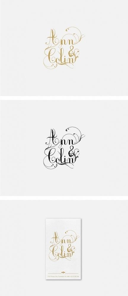 Identities - Mila #ornate #ampersand #beautiful #name #logo #decorative #wedding #love #typography