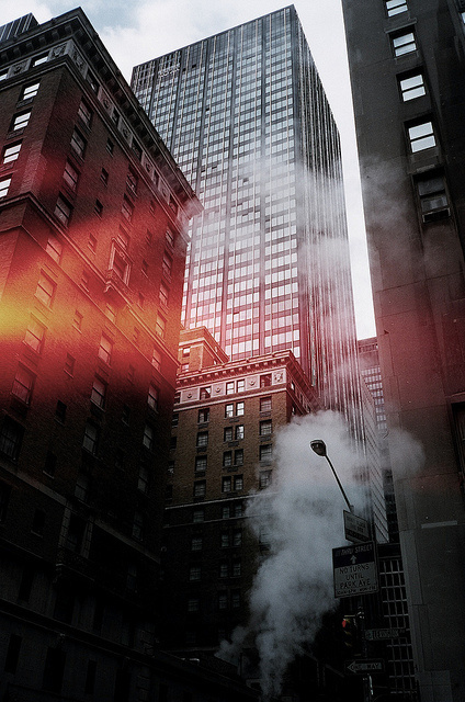 Standing Elements #skyscraper #photography #smoke