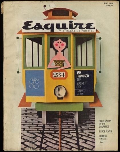 7203233732.jpg 740×933 pixels #cover #esquire #1950s
