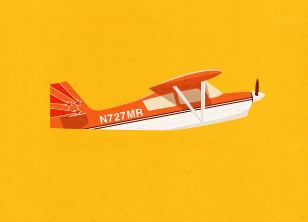 Aviones on Behance #airplane