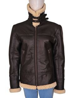 A Women B3 Shearling Aviator Bomber Leather Jacket for Civil Fashion is Available to Rock. Creating an Amazing Definition of Fashion.