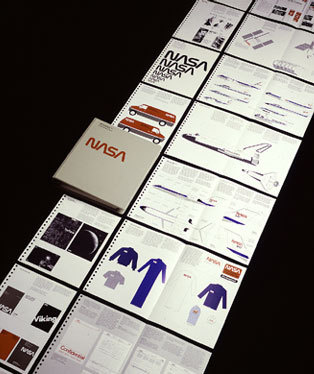 NASA Brand #logotype #branding #nasa #richard #danne #brand