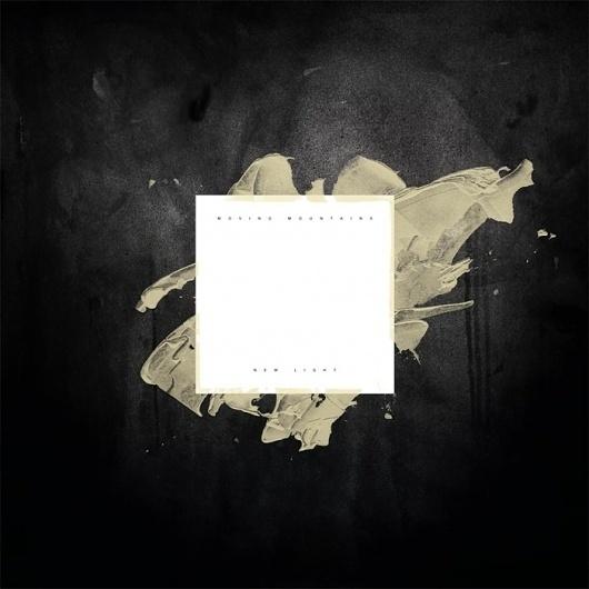 Dribbble - newlightlarge.jpg by Sam Kaufman #white #black #cover #artwork #light #moving #mountains #new