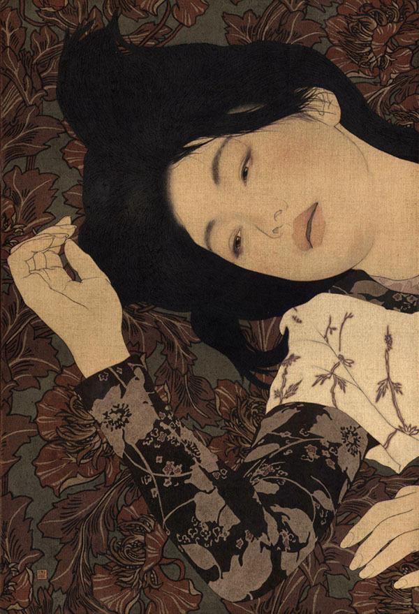 Ikenaga Yasunari #illustration #japanese #woman