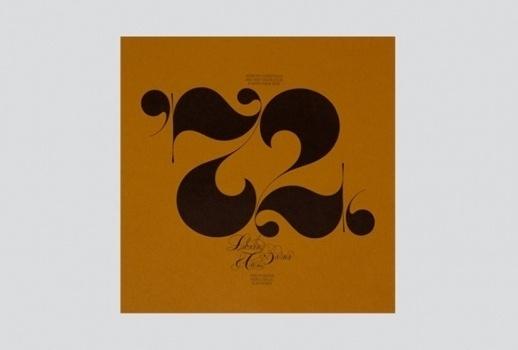 Unit Editions — Pre-order Herb Lubalin #numbers #typoraphy #ambigram