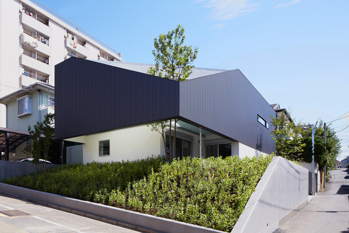 Modern Japanese Residence Pierced by a Tree: TY House by Yo Yamagata #modern #japanese #design #home #architecture