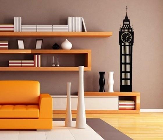 Big Ben Decal Wall Clock #decal #sticker #gadget #home