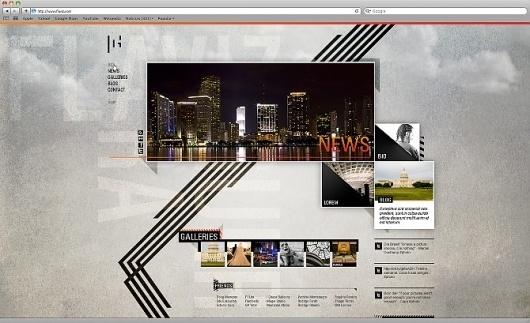 Flaviz Guerra #website #design #site #interactive
