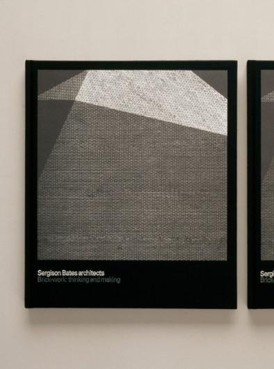 Brick-work: Thinking & Making | Cartlidge Levene #monotone #texture