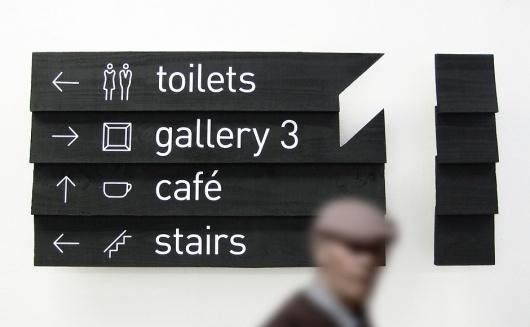Jerwood Gallery | Tom Petty | Designer #icon #gallery #branding #wayfinding