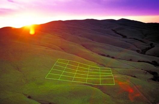 stuart williams: luminous earth grid #earth #grid
