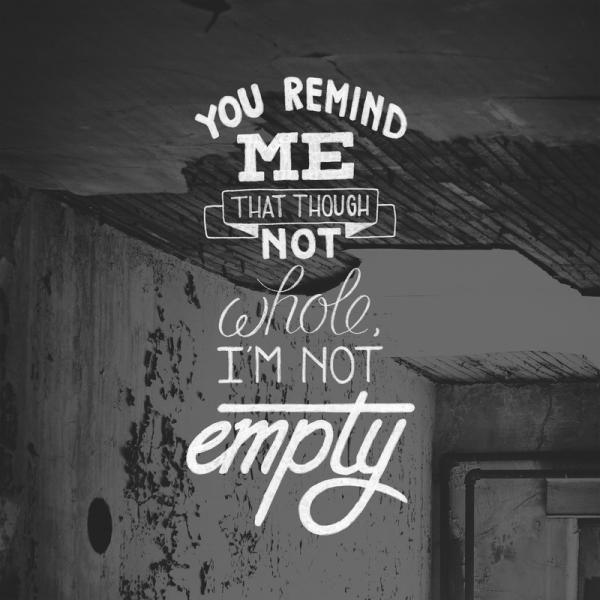 You Remind Me #lettering #white #quote #black #and #typography