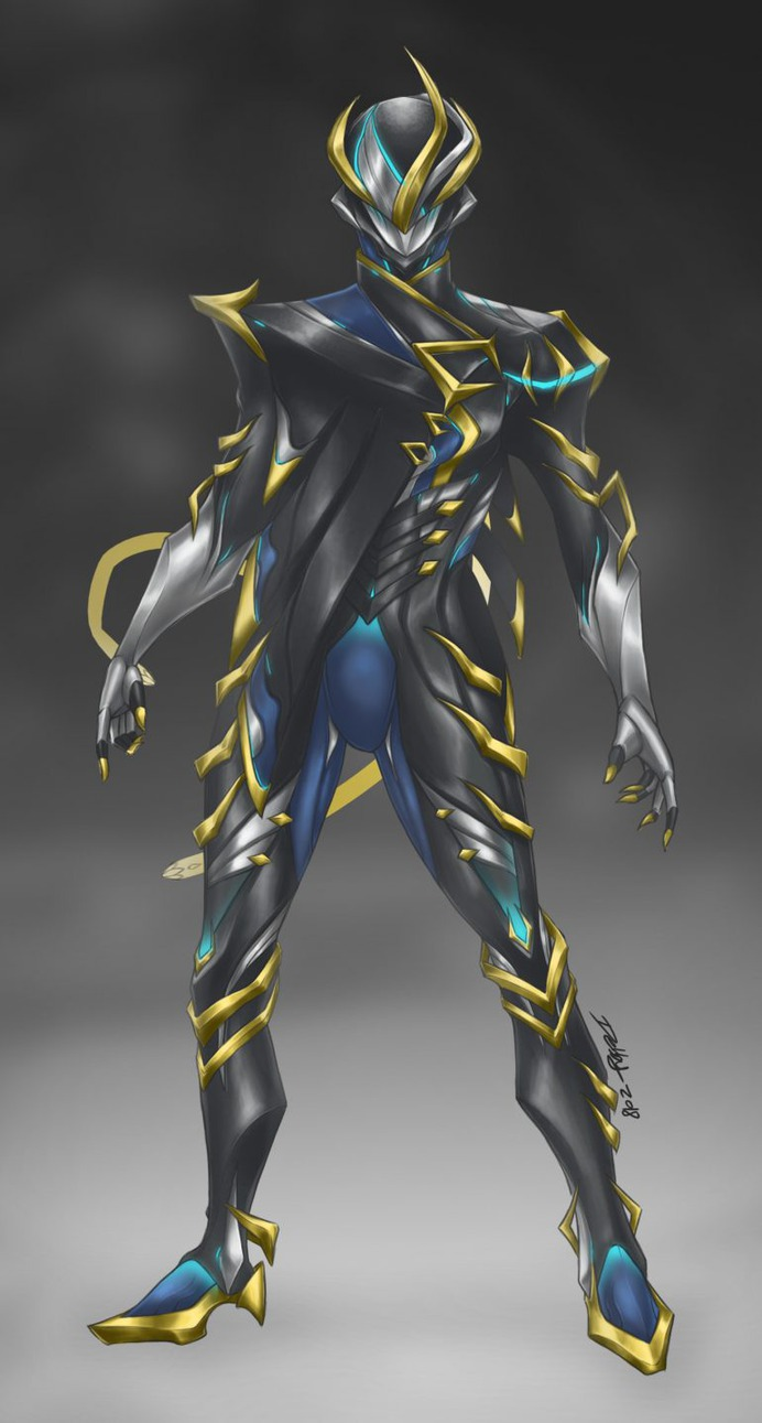 """""""Mesa Prime"""" Concept Fanart – Warframe, Debby & Art"""