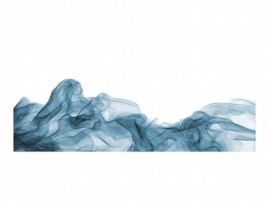 Mark Stock - Wave For Hokusai #blue #stir #fluid #wave
