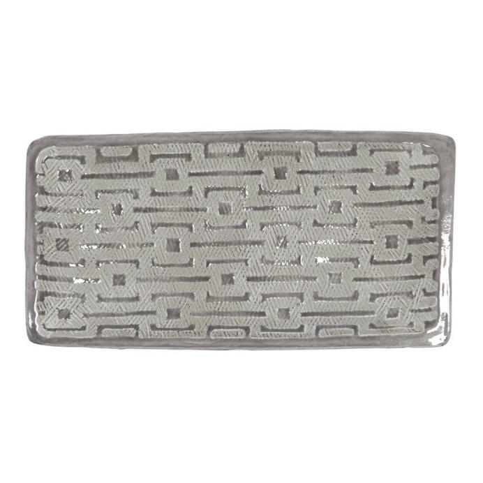 Scanlon Terracotta Grey Tray, 33 cm