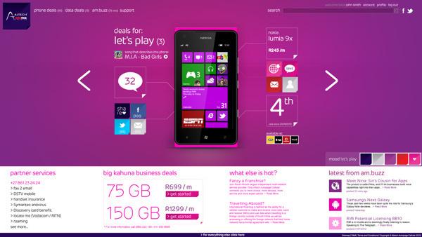 Digital design for website, phone and tablet app. #pink #design #mobile #tablet