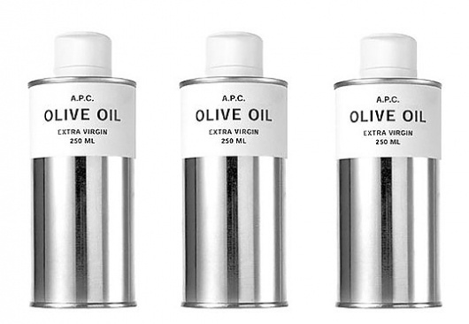 A.P.C. Olive Oil | Selectism.com #branding