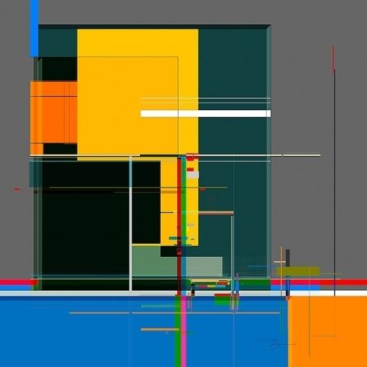 Strip 5 #modern #design #graphic #color #geometric #structure #strip #architecture #minimal