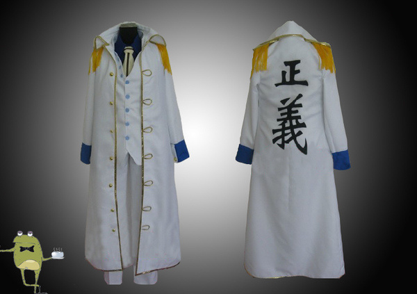 One Piece Admiral Aokiji Kuzan Cosplay Costume Marine Coat #cosplay #costume #kuzan #aokiji