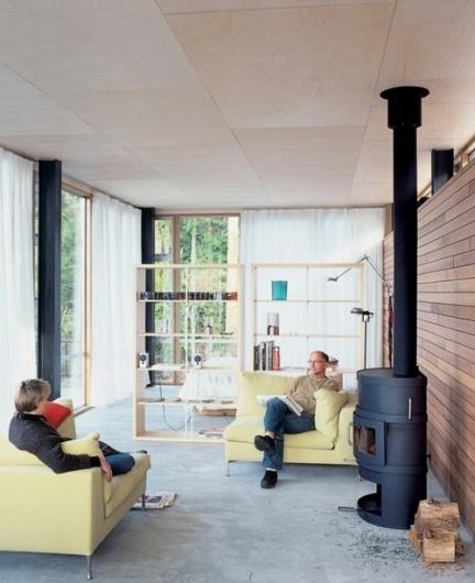 convoy #interior #concrete #ceiling #design #floor #bookcase #architecture #plywood