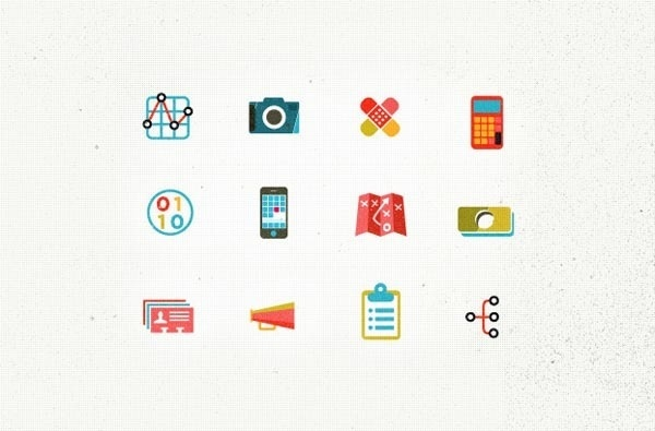 Icons Illustrated by Kelli Anderson #icons