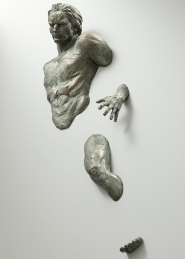 Colossal | An art and design blog. #statue #wall #free